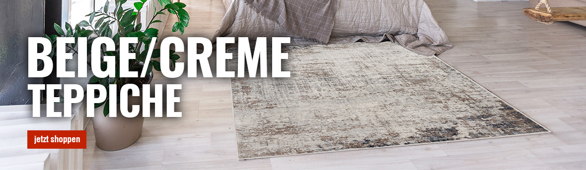 Beige Teppiche auf myneshome online kaufen
