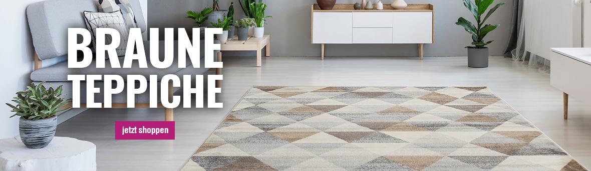 Braune Teppiche auf myneshome kaufen