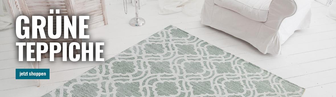 Gruene Teppiche auf myneshome kaufen
