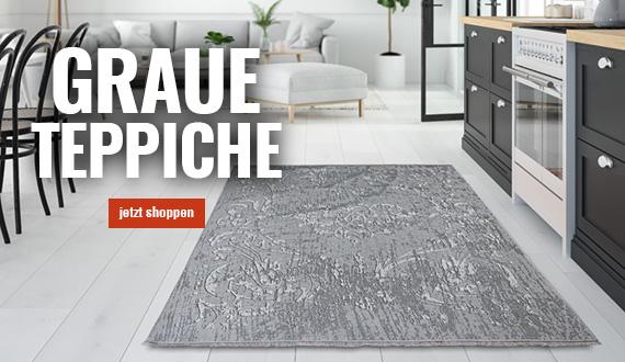 graue Teppiche mobil auf myneshome bestellen