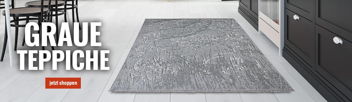 Graue Teppiche auf myneshome kaufen