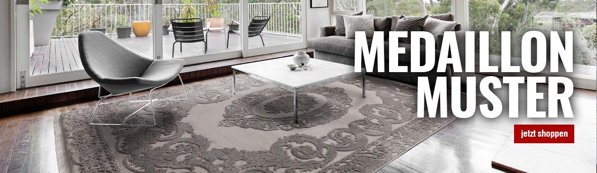 Teppiche mit Medaillon online auf myneshome kaufen