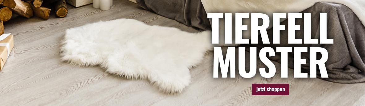 Teppiche in Tierfell Lammfell Motiv auf myneshome online kaufen