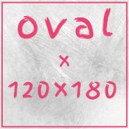 Teppiche in oval 120x180