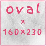 Teppiche in oval 160x230